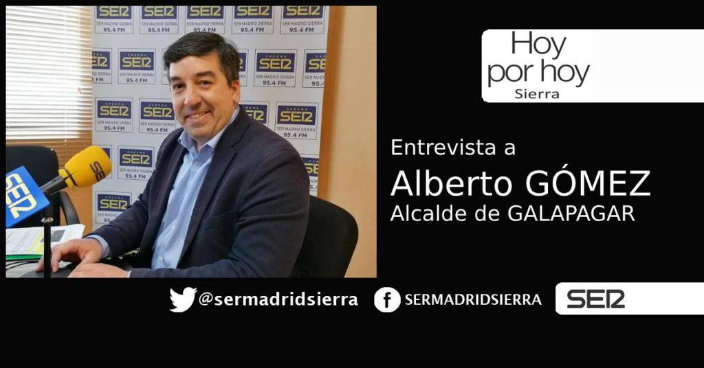 HOY POR HOY. Entrevista a ALberto Gómez, alcalde de Galapagar