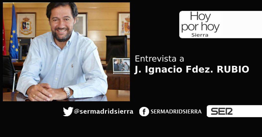 HOY POR HOY. Entrevista a Jose Ignacio Fdez. Rubio