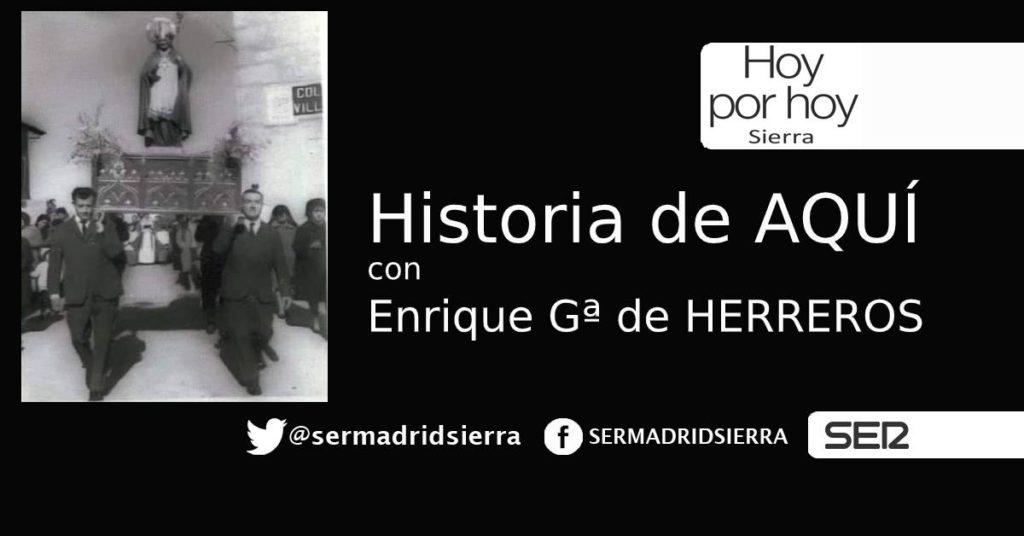 HOY POR HOY. Historia de Aquí. San Blas.
