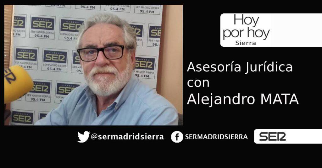 HOY POR HOY. Asesoría Jurídica, de la mano de Alejandro Mata