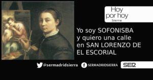 HOY POR HOY. Piden una calle en San Lorenzo para Sofonisba Anguissola