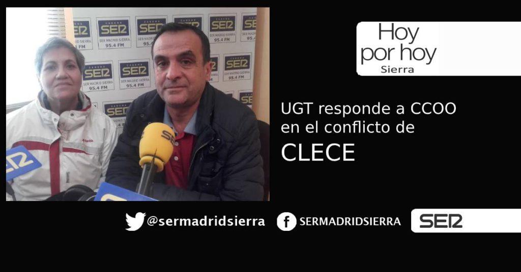 HOY POR HOY. Tomás Martín (UGT) responde a CCOO sobre el conflicto en CLECE