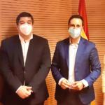 El Alcalde de Galapagar se reúne con el viceconsejero de políticas sociales de la Comunidad de Madrid