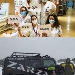MÁS DE UNO SIERRA – Voluntarios en rescate y ayuda de vecinos y trabajadores por la nevada